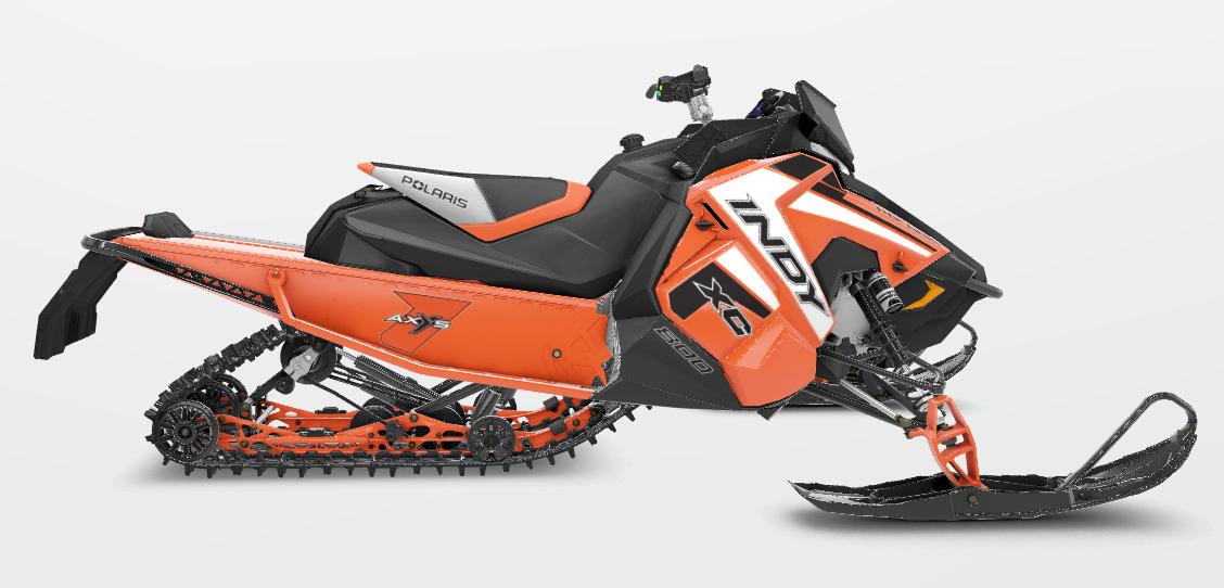 2019 Polaris Industries 800 INDY® XC 129 Orange Burst