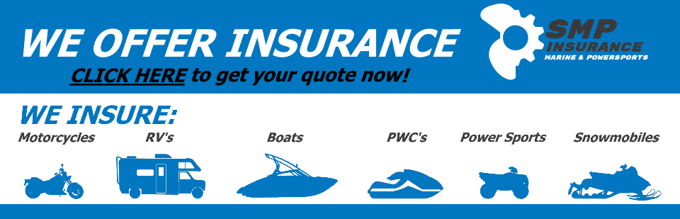 Powersports Insurance through Schnelker Marine & Powersports and Allstate