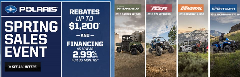 Polaris Spring Sales Event 2018