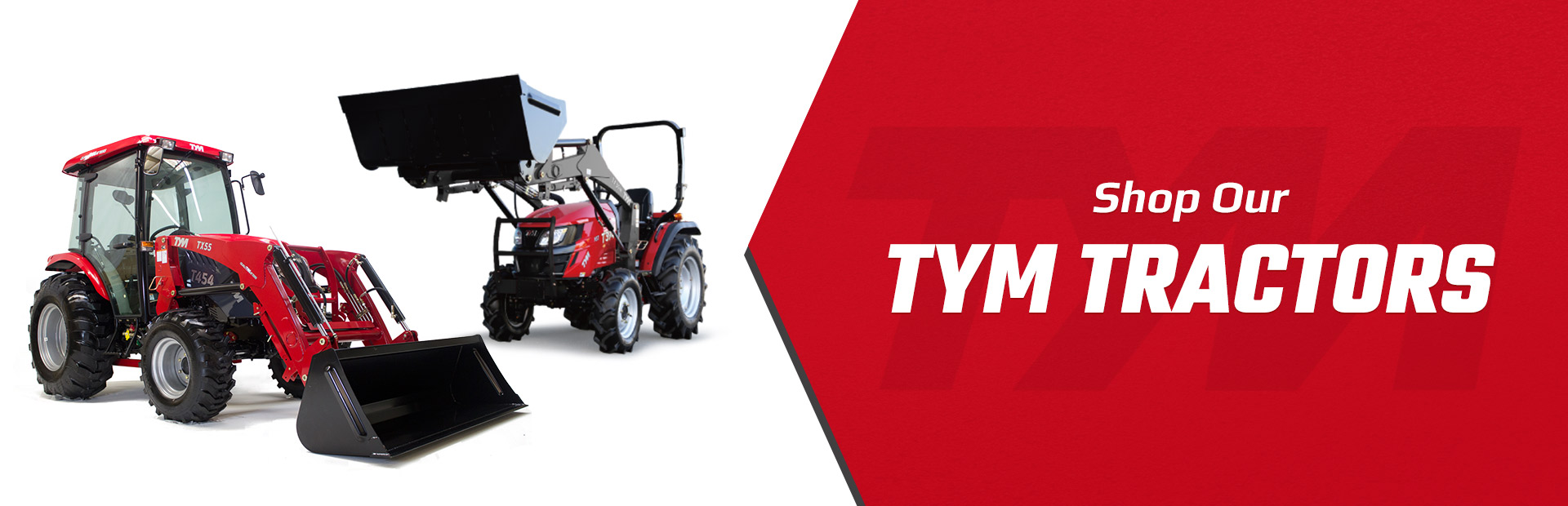 Shop Our TYM Tractors. Don't leave without yours!