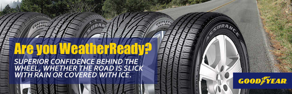 Goodyear Assurance WeatherReady Tire