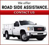 We offer road side assistance. Contact us.
