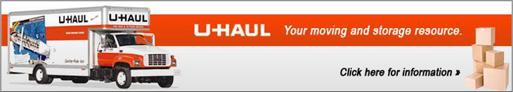 U-Haul is your moving and storage resource. Click here for information.
