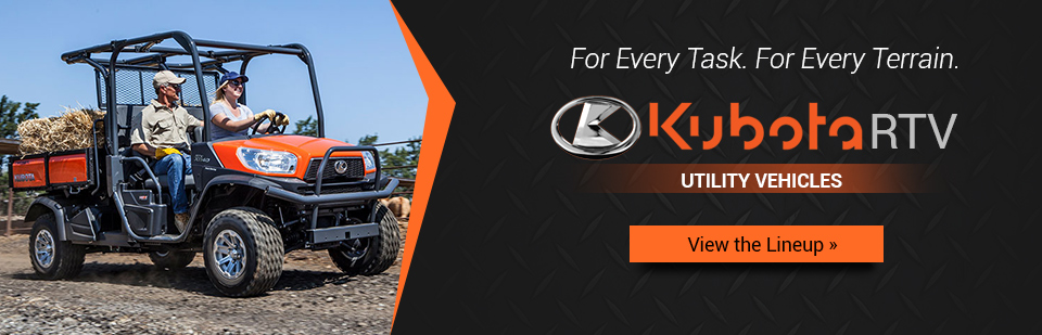 Kubota RTV Utility Vehicles