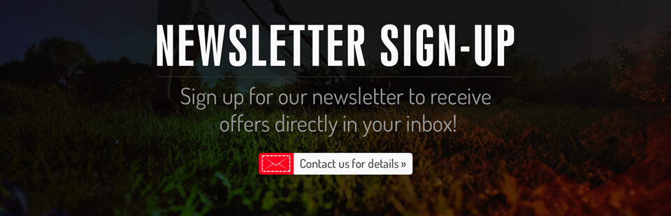 Sign up for our newsletter to receive offers directly in your inbox! Contact us for details.