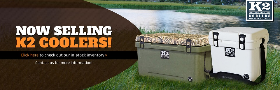 Broken Arrow Lawn & Garden is now selling K2 Coolers! Click here to check out our in-stock inventory.