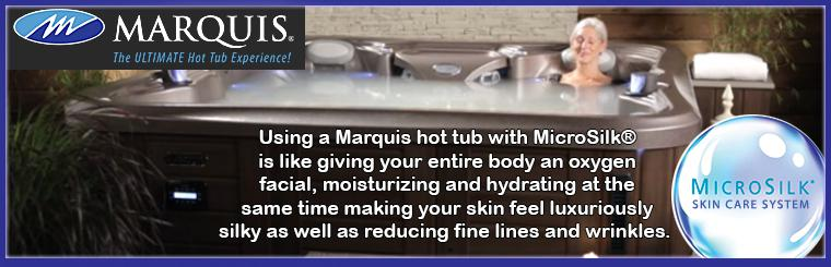 Marquis Spas: The Ultimate Hot Tub Experience! Stop into our showroom today!