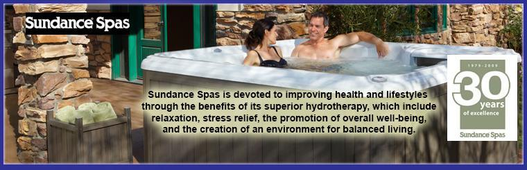 Sundance Spas is devoted to improving health and lifestyles