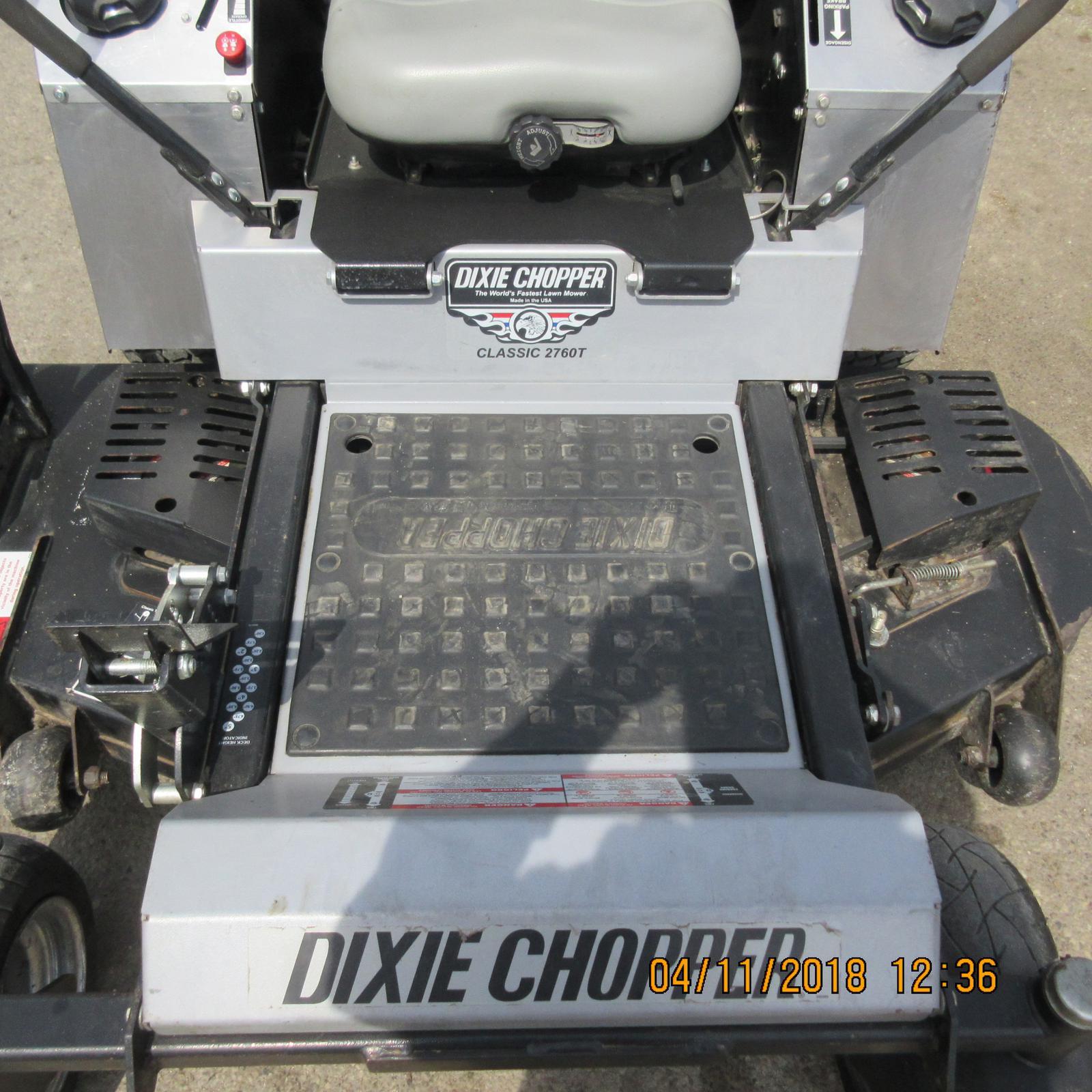 2012 Dixie Chopper Classic T - 2760T