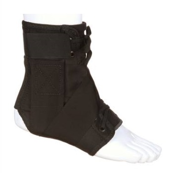 An example of an ankle brace