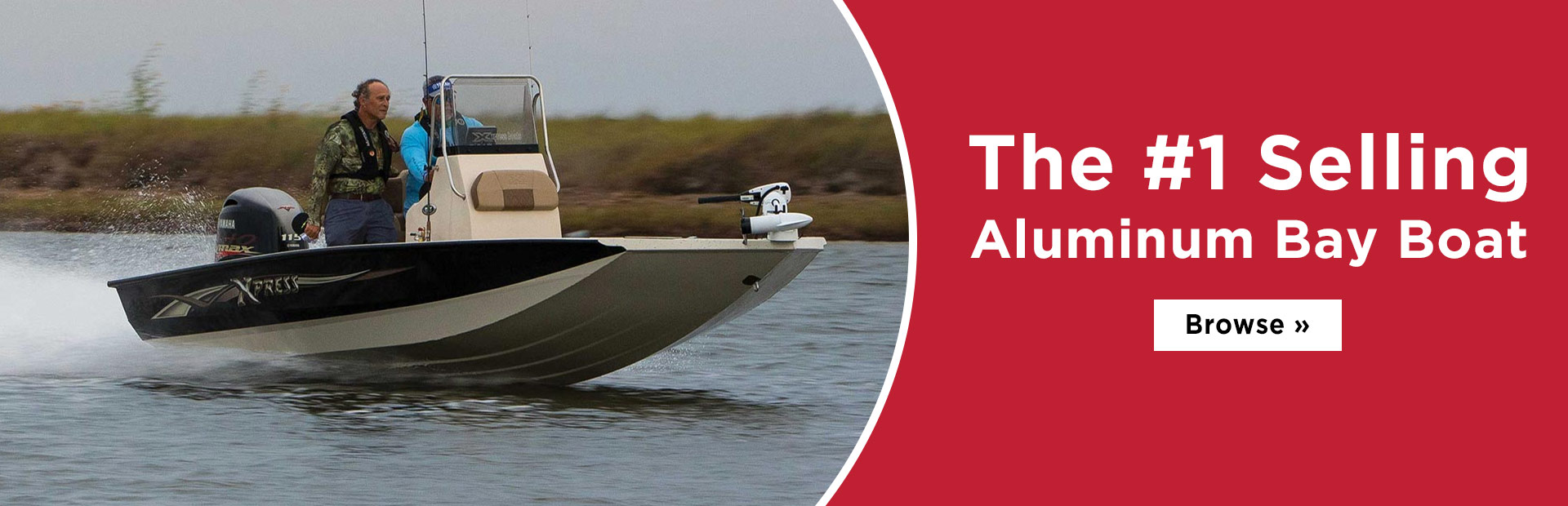 Click here to browse the #1 selling aluminum bay boat.