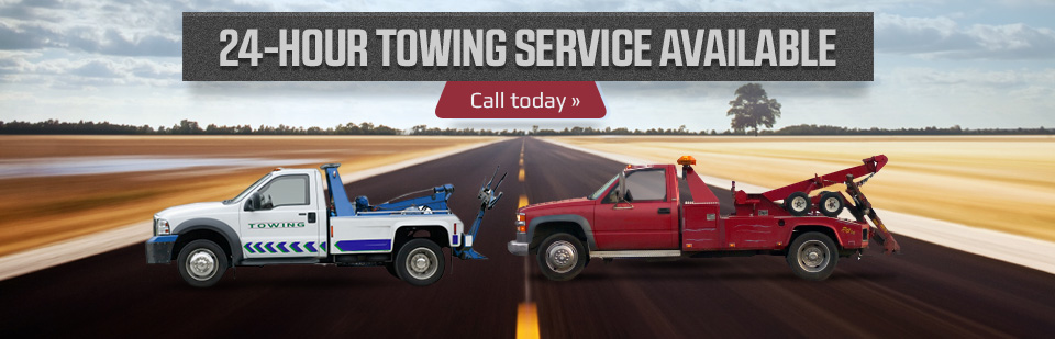 24-Hour Towing Service Available: Call (320) 384-6193 for details.