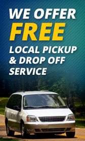We Offer Free Local Pickup & Drop Off Service.