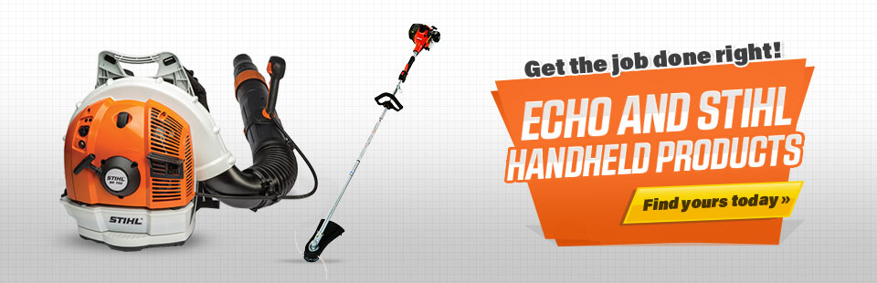 ECHO and STIHL Handheld Products: Click here to find yours today.