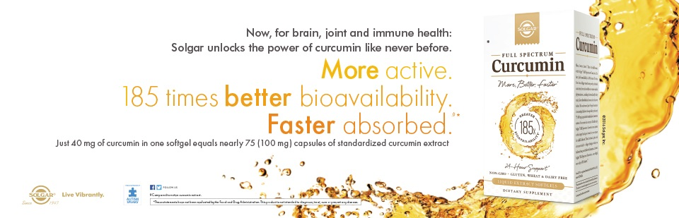 More active. 185 times better bioavailability. Faster absorbed.