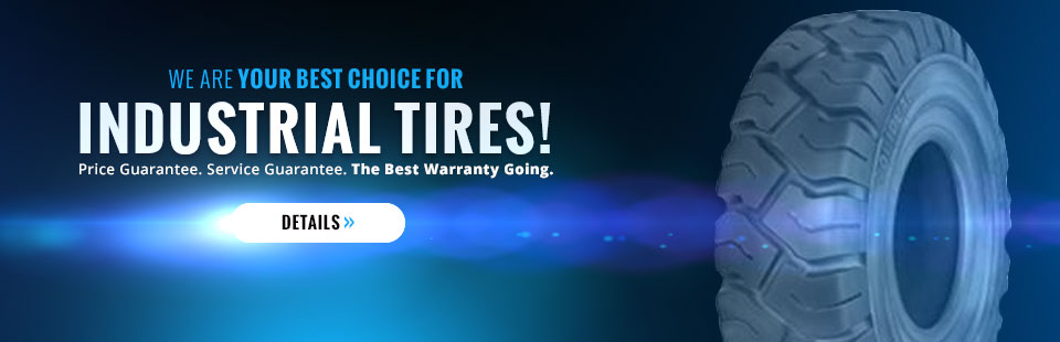 Metro Industrial Tire is your best choice for industrial tires!