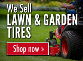 We sell Lawn & Garden Tires. Shop now.