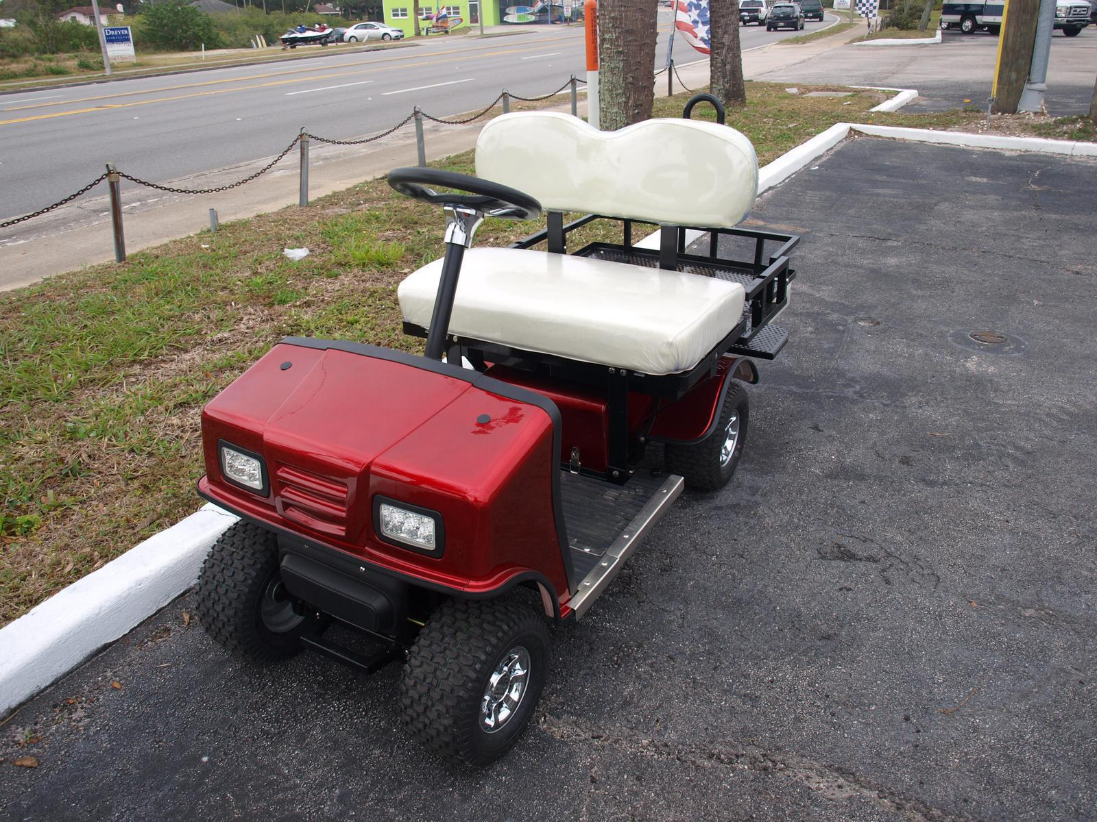 Cricket Golf Carts Sx 3 Red With White Seats