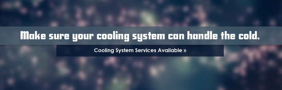Cooling system services are available at Simmons Tire Company!
