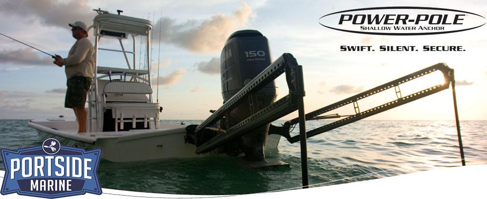 Power Poles | Portside Marine | Orlando, FL Portside Marine