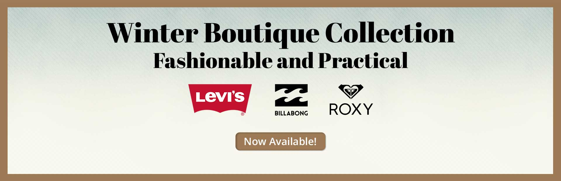 Winter Boutique Collection Now Available: Click here for details.