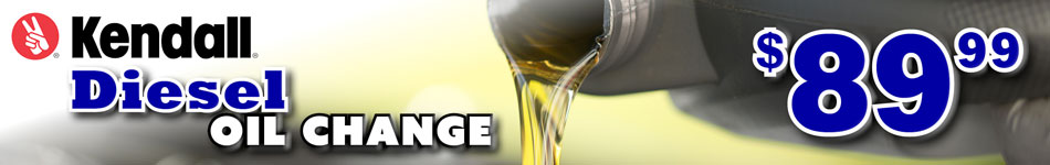 kendall diesel oil change