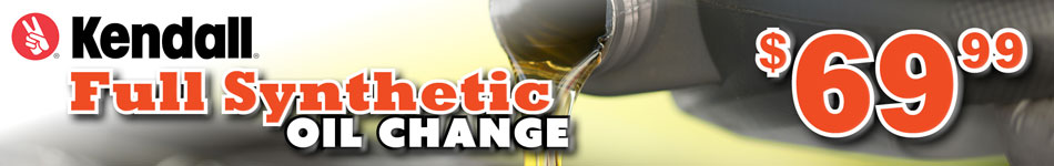 kendall full synthetic oil change