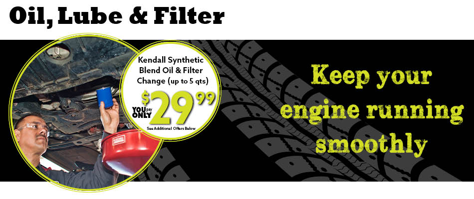 Oil Change Coupon Jack Furrier Tire Auto Care In Tucson Az