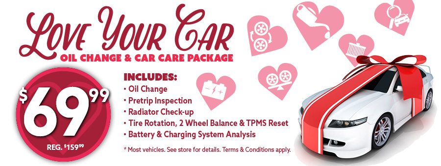 Love Your Car | Valentine Specials Jack Furrier Tire & Auto