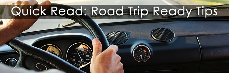 Tuffy's Road Trip Ready Tips