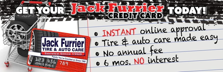 Get Your Jack Furrier Credit Card