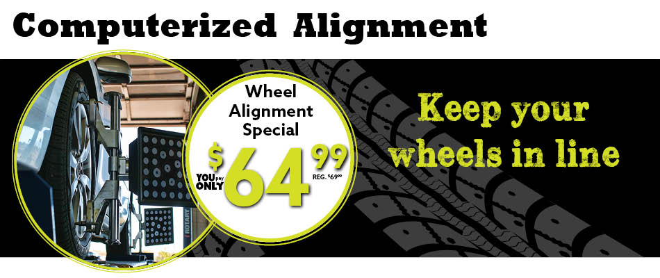Computerized Alignment Jack Furrier Tire Auto Care In Tucson Az