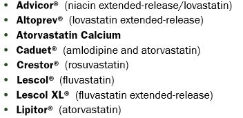 Cholesterol Medications Part 1