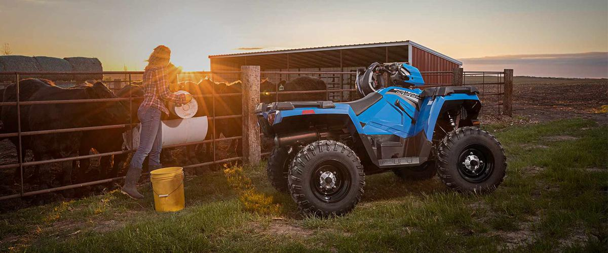 Shop All Polaris ATVs