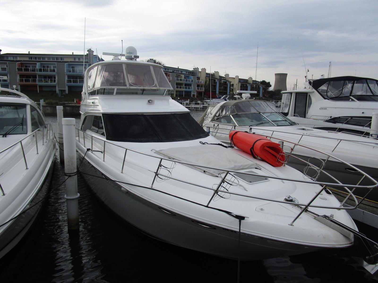 2003 Sea Ray boat for sale, model of the boat is 480 Sedan Bridge & Image # 1 of 15