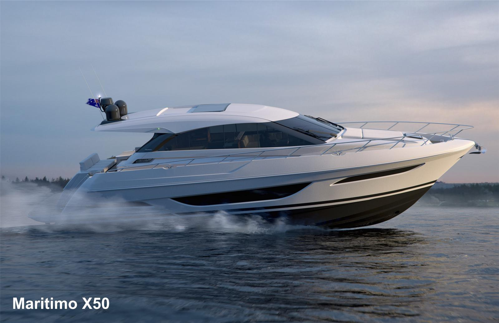 2020 Maritimo boat for sale, model of the boat is X50 - ON ORDER & Image # 4 of 4