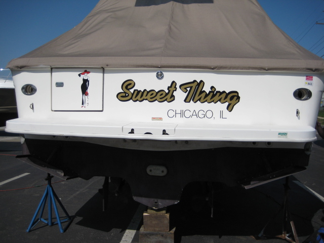 1997 Sea Ray boat for sale, model of the boat is 330 Express & Image # 2 of 8