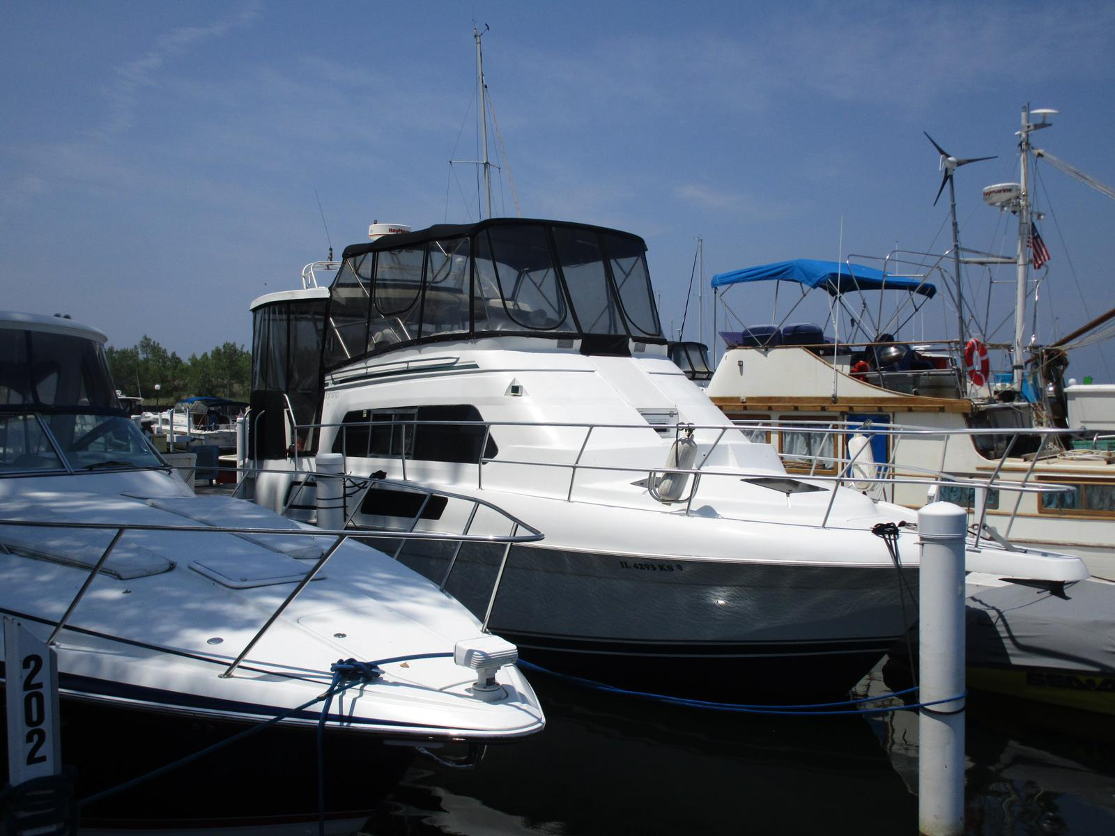 1995 Mainship boat for sale, model of the boat is 37 Motor Yacht & Image # 2 of 13