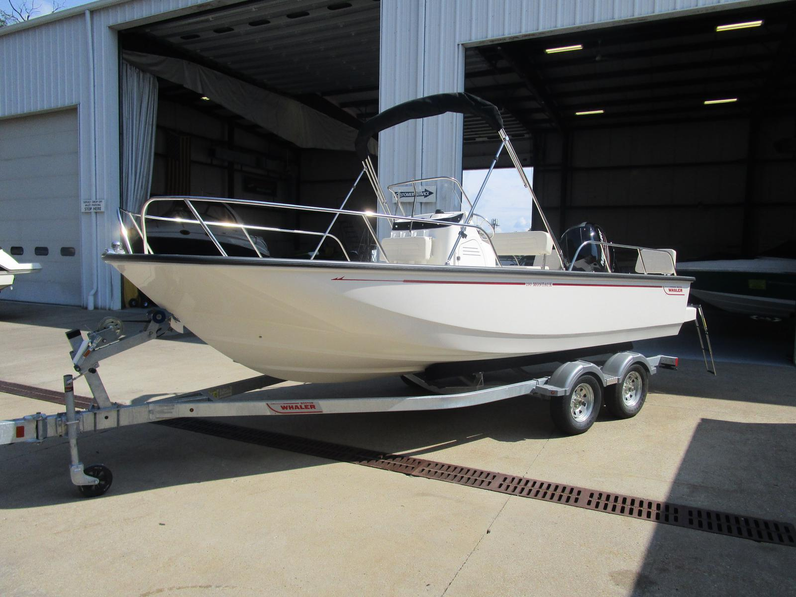 2018 Boston Whaler boat for sale, model of the boat is 190 Montauk & Image # 1 of 5