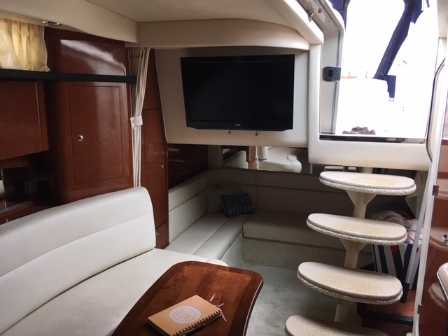 2003 Sea Ray boat for sale, model of the boat is 340 Sundancer & Image # 8 of 9
