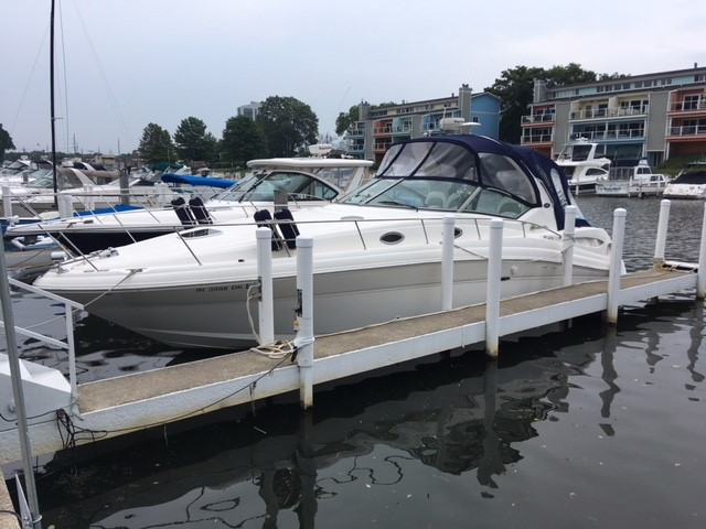 2003 Sea Ray boat for sale, model of the boat is 340 Sundancer & Image # 1 of 9
