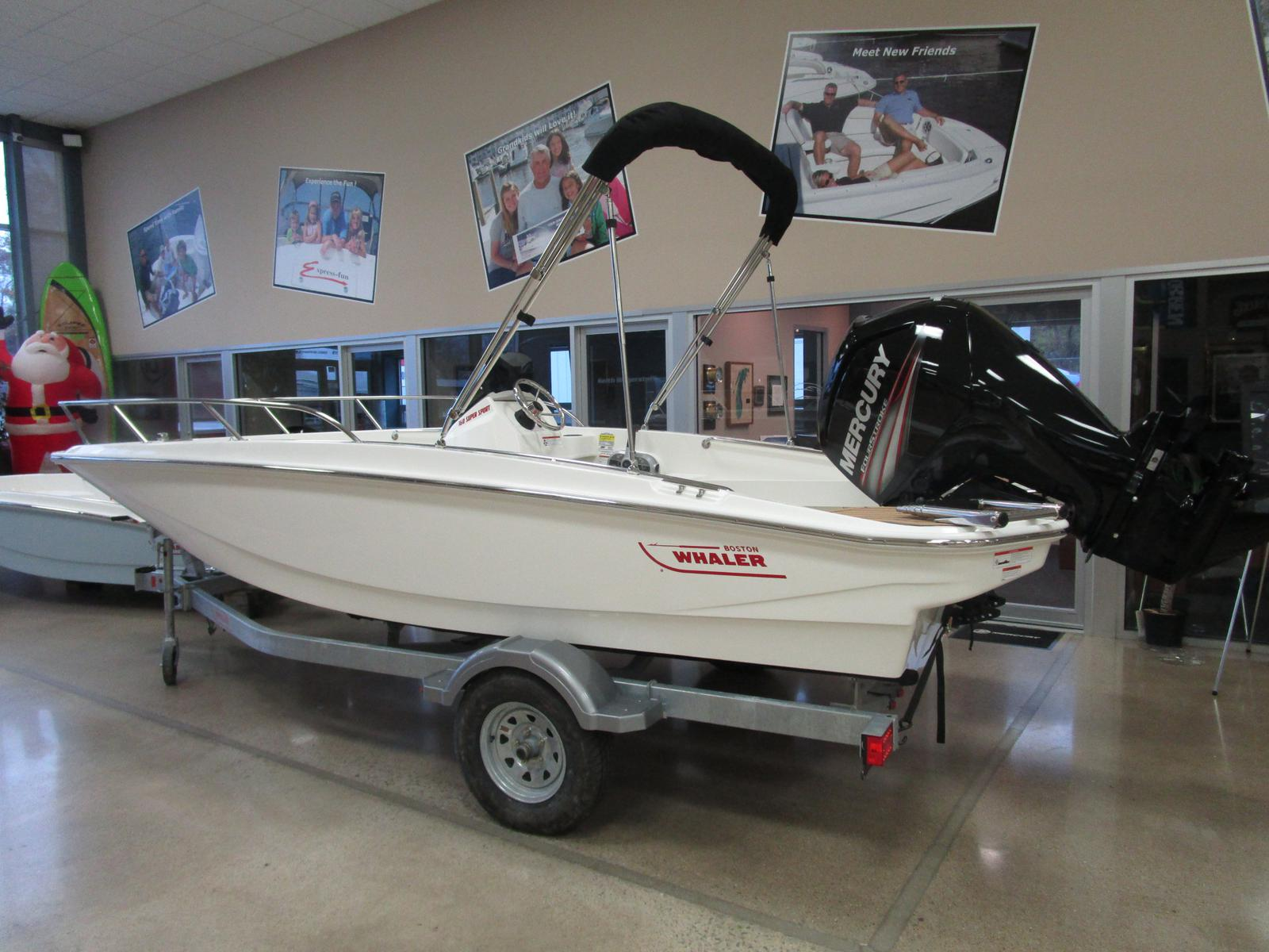 2019 Boston Whaler boat for sale, model of the boat is 160 Super Sport & Image # 2 of 5