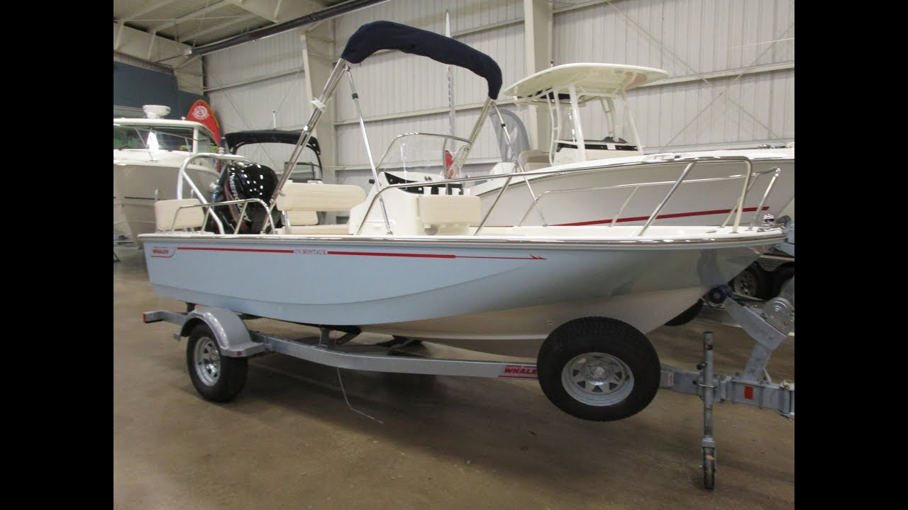 2019 Boston Whaler boat for sale, model of the boat is 170 Montauk & Image # 1 of 2