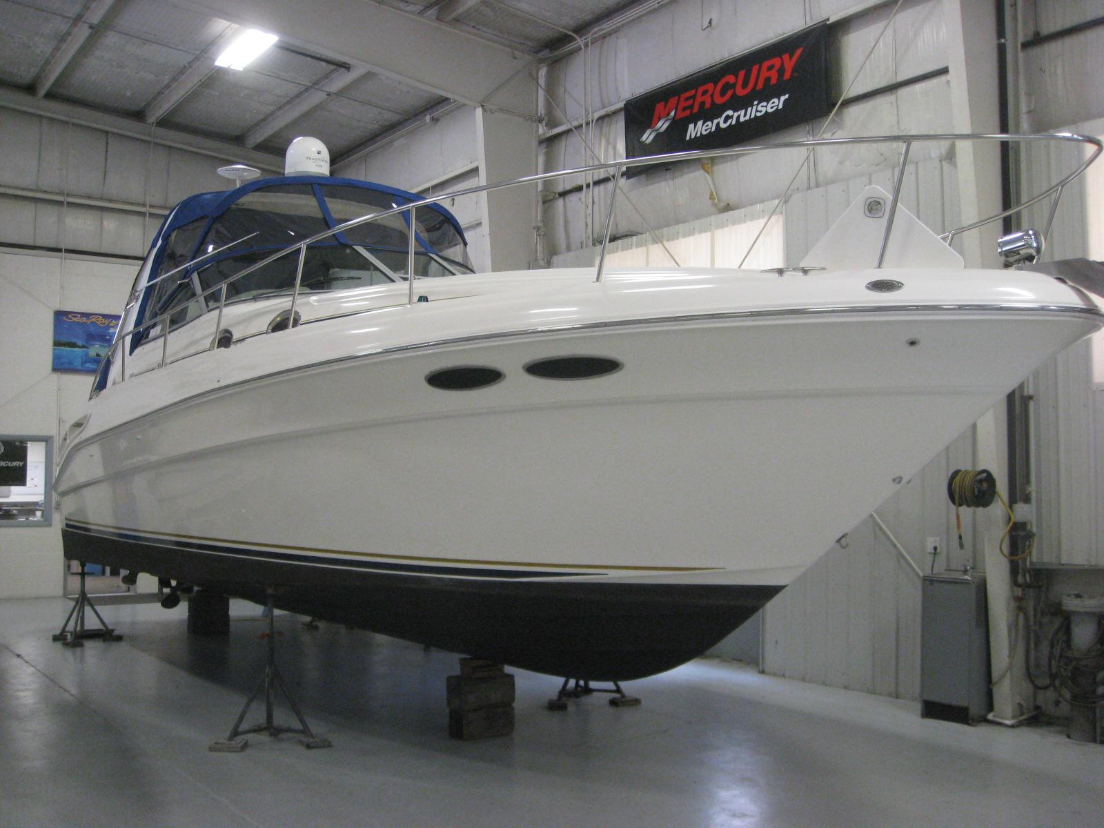 2000 Sea Ray boat for sale, model of the boat is 340 Sundancer & Image # 1 of 13