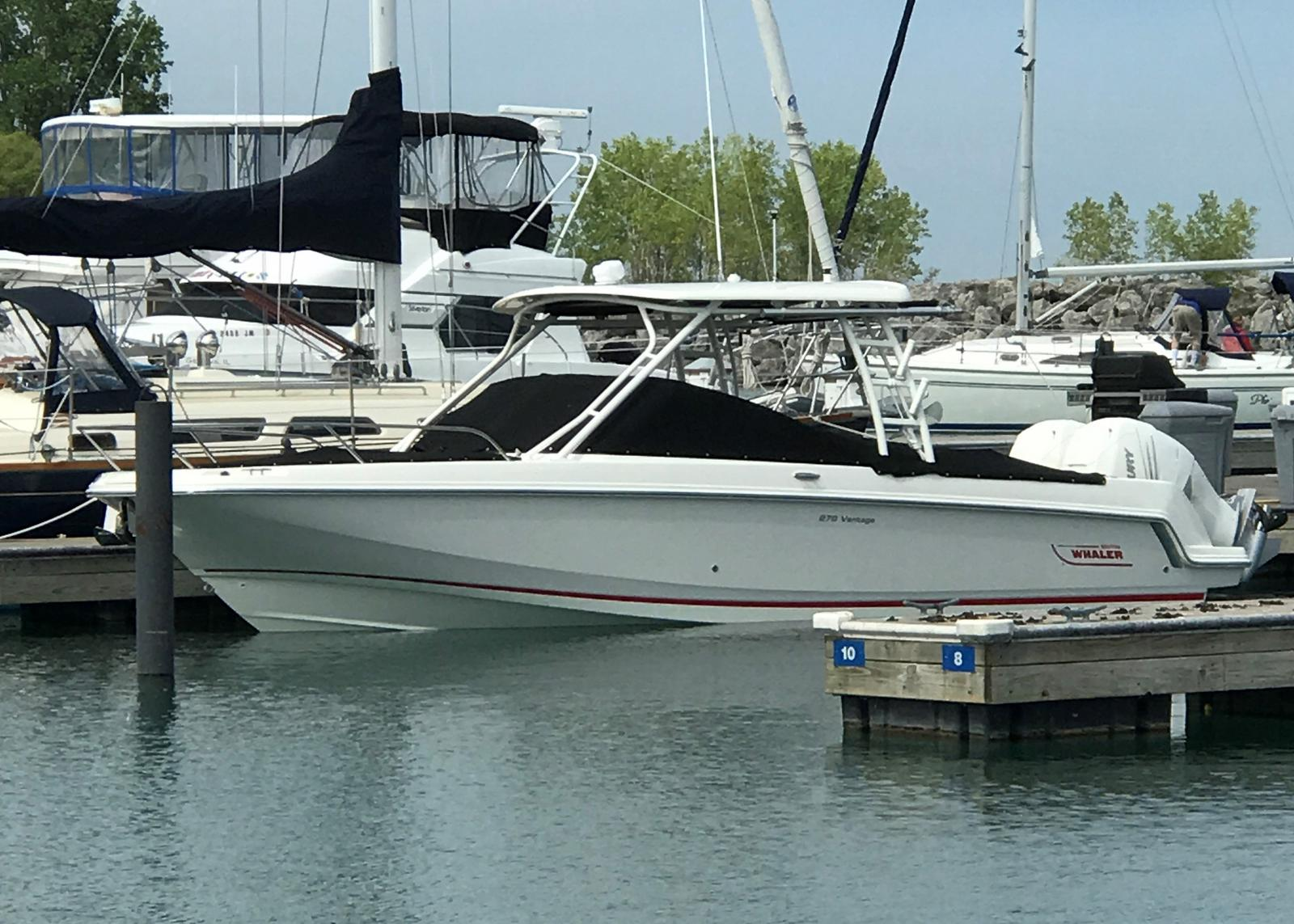 2017 Boston Whaler boat for sale, model of the boat is 270 Vantage Freshwater, Joystick, Loaded!!! & Image # 3 of 14