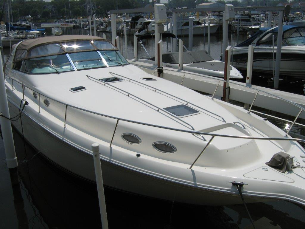 1996 Sea Ray boat for sale, model of the boat is 450 Sundancer & Image # 1 of 16
