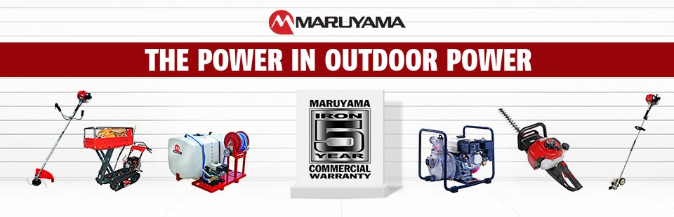 Maruyama: The Power in Outdoor Power