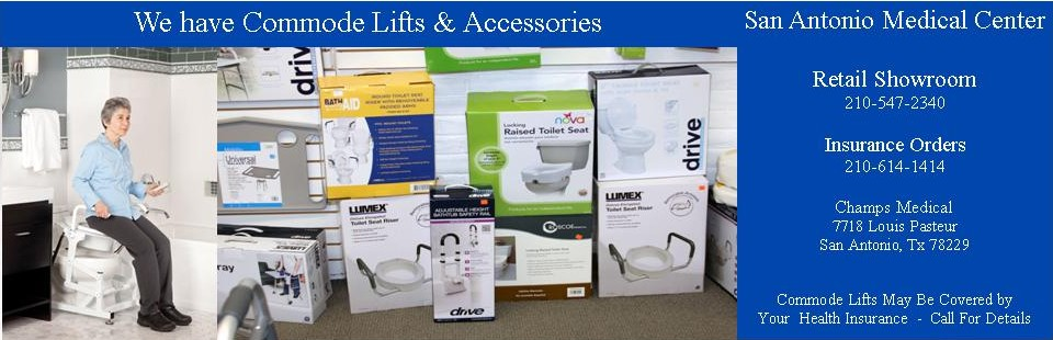 Commode Lifts & Accessories