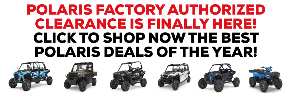 FACTORY AUTHORIZED CLEARANCE IS FINALLY! CLICK TO SHOP NOW!
