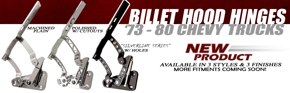 New Product - 73-80 Hood Hinges